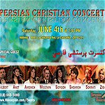 Persian Christian Concert in California June 4 2011, Iranian Christian Gospel Concert by Gilbert Hovsepian, Shohreh, Ziba, Angineh, Anet, Sepideh, Sokrati, Mostafa and Hanid in La Crescenta California