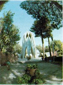 Masouleum of the great Persian Poet and mathematician. Hakim Omar Khayyam