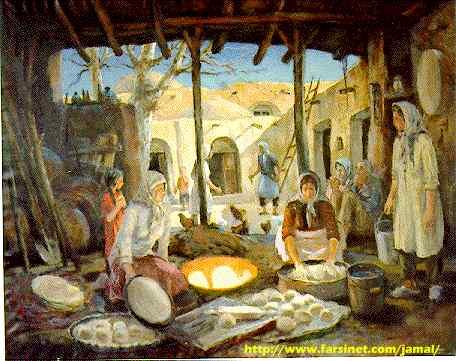Old Persian Paintings