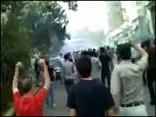 Islamic Republic of Iran Government cracks down on Iranian youth protesting the lack of Freedom and aleged Fraud election result