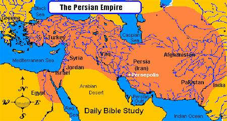 Persian Empire Map