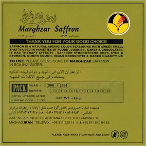 Standard High quality Standard by Marghzar from Mashhad Iran for Export
