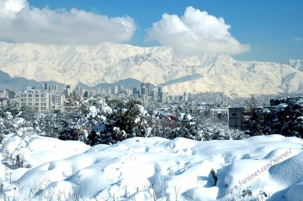 Winter in Tehran, Plenty of Snow Fall in Tehran for a great Ski season, Ski in Tehran the Iranian Style
